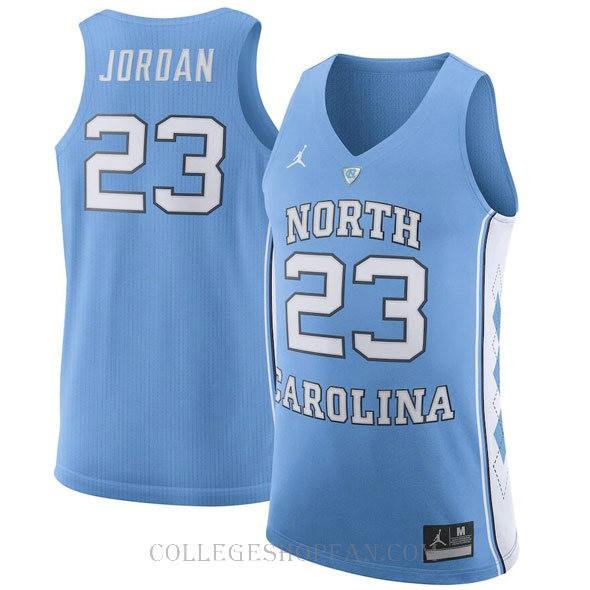 Jordan Brand Michael Jordan North Carolina Tar Heels #23 Limited College Basketball Mens Jersey Light Blue