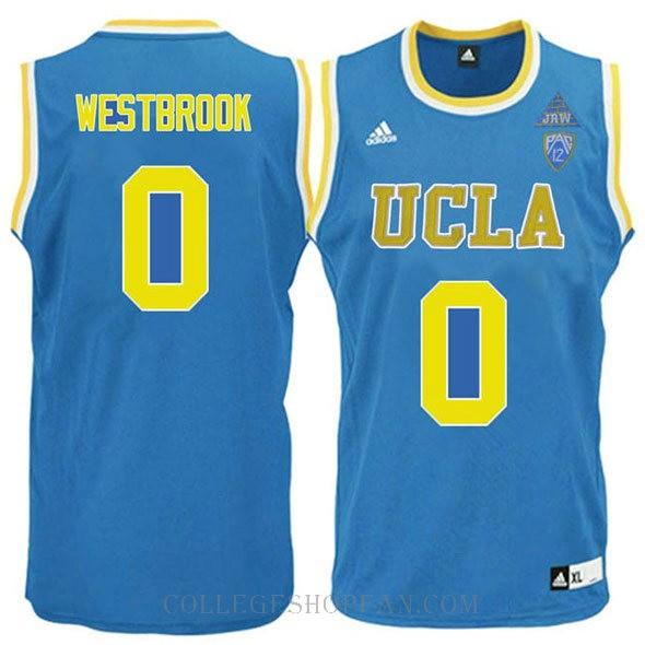 Russell Westbrook Ucla Bruins 0 Swingman Adidas College Basketball Youth Jersey Blue
