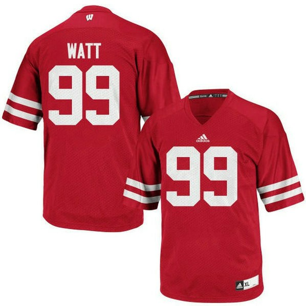 Youth Jj Watt Wisconsin Badgers #99 Game Red Colleage Football Jersey 102