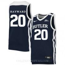 Gordon Hayward Butler Bulldogs #20 Swingman College Basketball Mens Jersey Navy