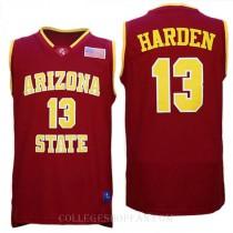 James Harden Arizona State Sun Devils #13 Swingman College Basketball Youth Jersey Red