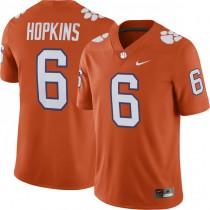 Mens Deandre Hopkins Clemson Tigers #6 Game Orange Colleage Football Jersey 102