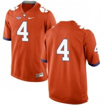 Mens Deshaun Watson Clemson Tigers #4 New Style Limited Orange Colleage Football Jersey No Name 102