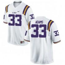 Mens Jamal Adams Lsu Tigers #33 Limited White College Football Jersey 102