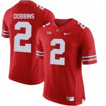 Mens Jk Dobbins Ohio State Buckeyes #2 Game Red College Football Jersey 102