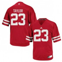 Mens Jonathan Taylor Wisconsin Badgers #23 Authentic Red Colleage Football Jersey 102