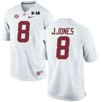 Mens Julio Jones Alabama Crimson Tide Limited 2016th Championship White College Football Jersey 102