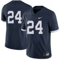 Mens Mike Gesicki Penn State Nittany Lions #24 Authentic Navy Colleage Football Jersey No Name 102