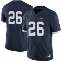 Mens Saquon Barkley Penn State Nittany Lions #26 Authentic Navy Colleage Football Jersey No Name 102