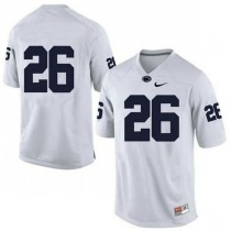 Mens Saquon Barkley Penn State Nittany Lions #26 Game White Colleage Football Jersey No Name 102