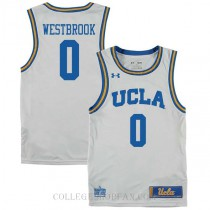 Russell Westbrook Ucla Bruins 0 Authentic College Basketball Mens Jersey White