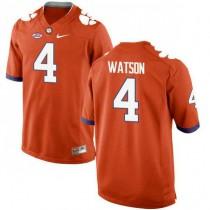 Womens Deshaun Watson Clemson Tigers #4 New Style Authentic Orange Colleage Football Jersey 102