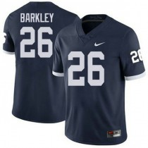 Womens Saquon Barkley Penn State Nittany Lions #26 Authentic Navy Colleage Football Jersey 102