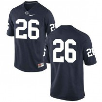 Womens Saquon Barkley Penn State Nittany Lions #26 New Style Game Navy Colleage Football Jersey No Name 102