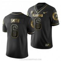 Wowomens Devonta Smith Alabama Crimson Tide #6 Authentic Black College Football Jersey