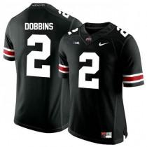 Youth Jk Dobbins Ohio State Buckeyes #2 Game Black College Football Jersey 102