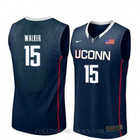 Kemba Walker Uconn Huskies #15 Limited College Basketball Womens Jersey Navy
