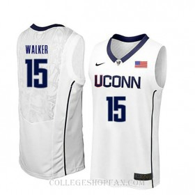 Kemba Walker Uconn Huskies #15 Limited College Basketball Womens Jersey White