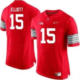 Mens Ezekiel Elliott Ohio State Buckeyes #15 Champions Game Red College Football Jersey 102