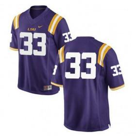 Mens Jamal Adams Lsu Tigers #33 Game Purple College Football Jersey No Name 102