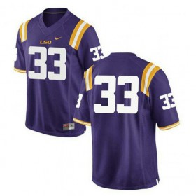 Mens Jamal Adams Lsu Tigers #33 Limited Purple College Football Jersey No Name 102