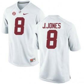 Mens Julio Jones Alabama Crimson Tide #8 Limited White Colleage Football Jersey 102