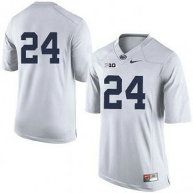 Mens Mike Gesicki Penn State Nittany Lions #24 Game White Colleage Football Jersey No Name 102