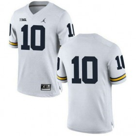 Youth Tom Brady Michigan Wolverines #10 Authentic Navy College ...