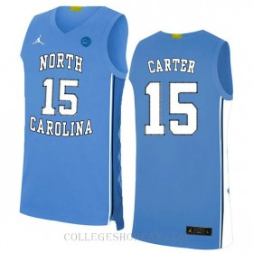 Vince Carter North Carolina Tar Heels #15 Authentic College Basketball Youth Jersey White