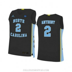Womens Cole Anthony North Carolina Tar Heels #2 Authentic Black College Basketball Unc Jersey