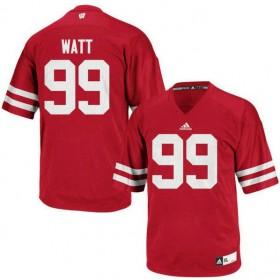 Womens Jj Watt Wisconsin Badgers #99 Limited Red Colleage Football Jersey 102