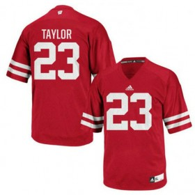 Womens Jonathan Taylor Wisconsin Badgers #23 Authentic Red Colleage Football Jersey 102