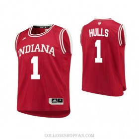 Womens Jordan Hulls Indiana Hoosiers #1 Limited Red College Basketball Jersey