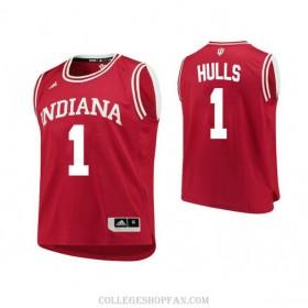 Womens Jordan Hulls Indiana Hoosiers #1 Swingman Red College Basketball Jersey
